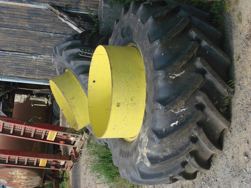 2 гуми Goodyear гуми, размер 710/70/38,