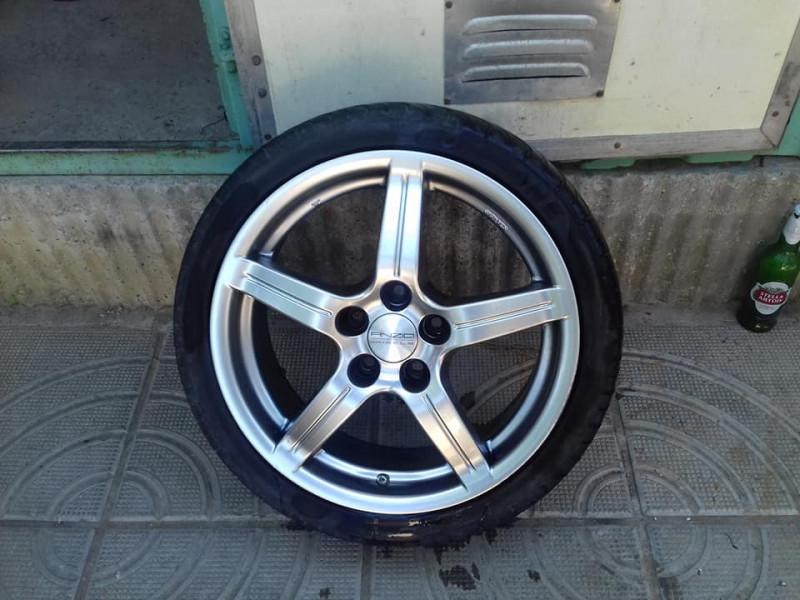 джанти anzio wheels 17 цола за mercedes от  5 x 112