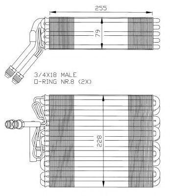Изпарител за климатик VW Golf