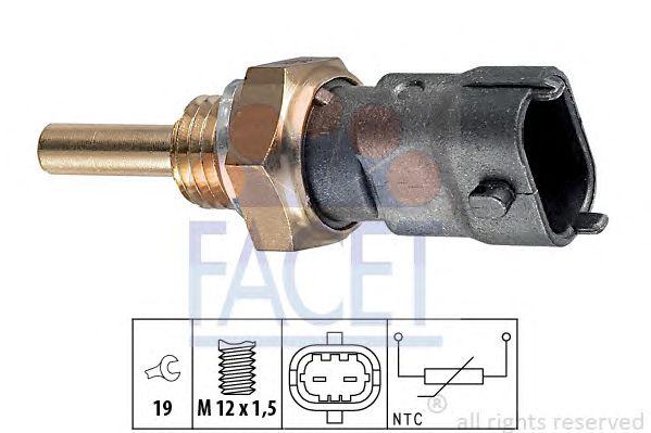 датчик, температура на охладителната течност Alfa Romeo 159