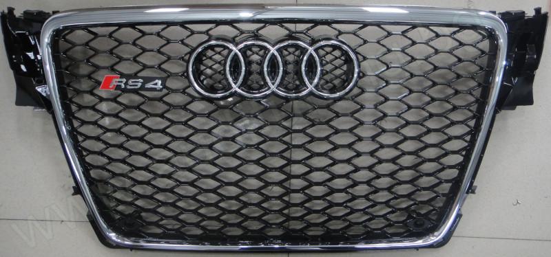 Решетка за Ауди А4/RS4/б8/Audi A4 b8 2009 2010 2011 2012