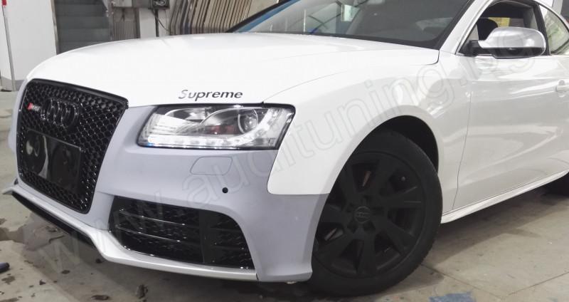 Предна броня за Ауди А5/Audi A5 RS5/2007 2008 2009 2010 2011