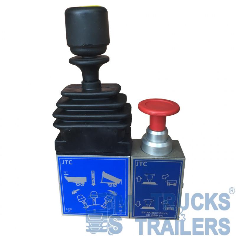 Пневматичен джойстик и бутон за капак - тип MEILLER