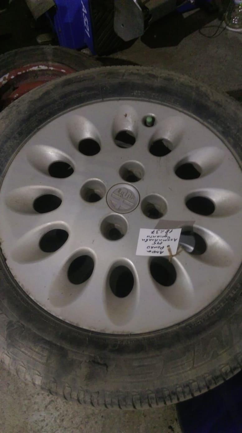 Aлуминиеви джанти с гуми за Алфа Ромео