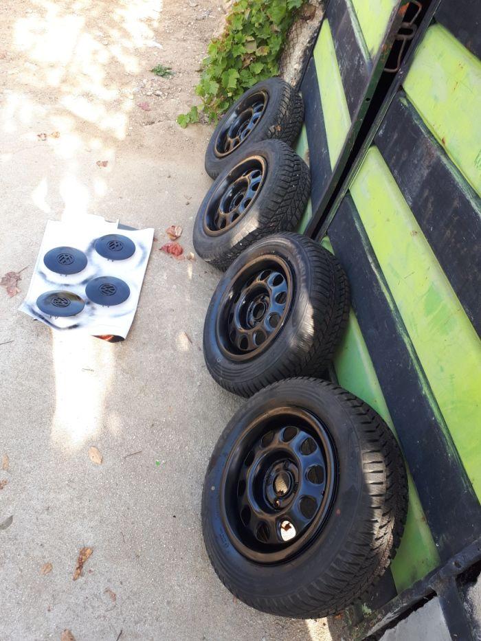 VW обурудване рез.гума,джанти,крик и др.