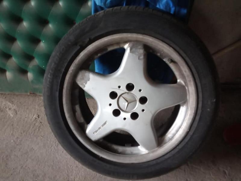 "джанти с гуми 17""amg mercedes sport paket 5 x 112"