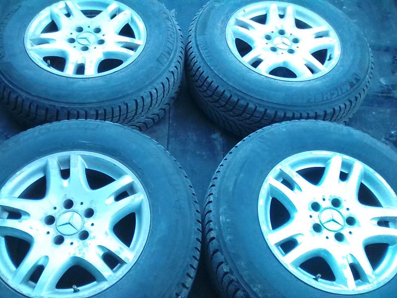 Продавам джанти с гуми-Мichelin Аlpin 225/75/16