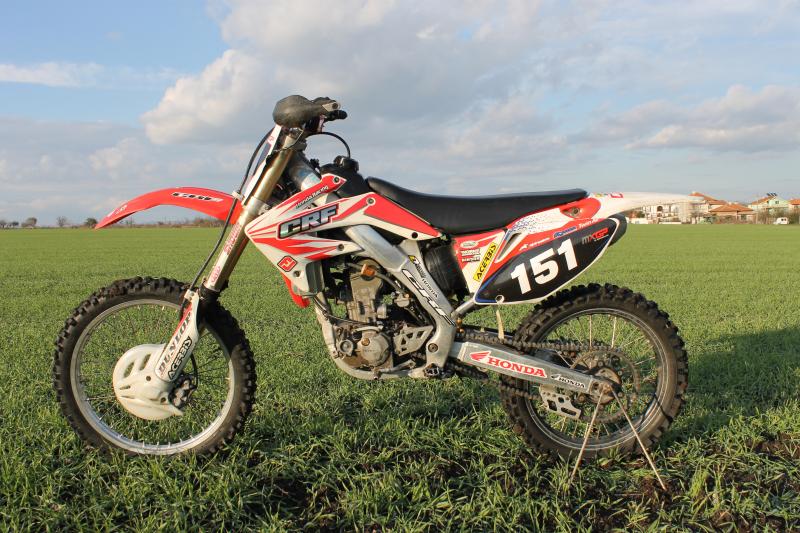 4- Honda Crf