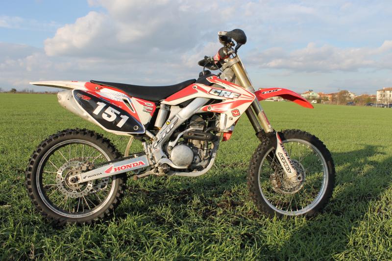 5- Honda Crf