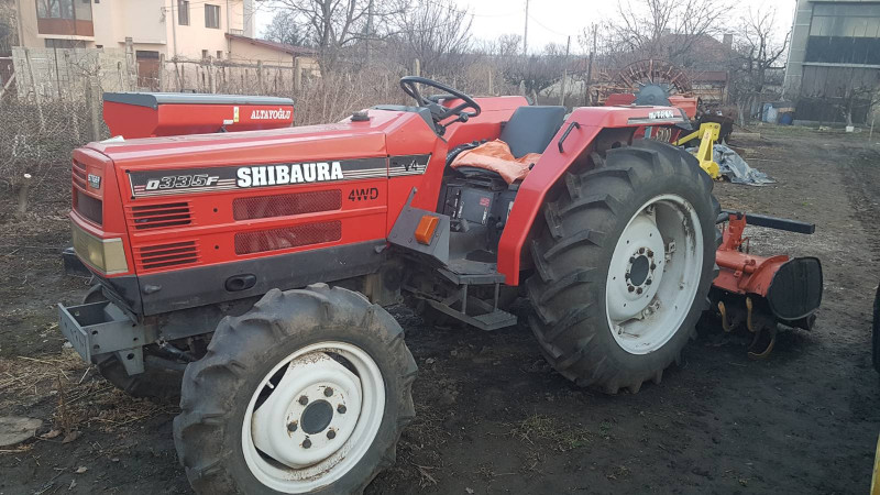 трактор shibaura stiger d335f 33кс