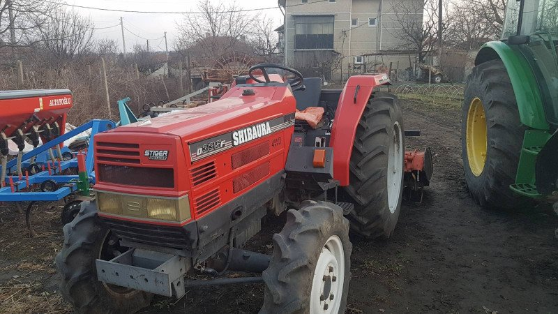 3- трактор shibaura stiger d335f 33кс