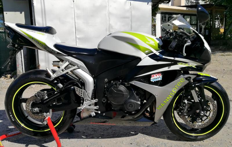 5- Honda Cbr