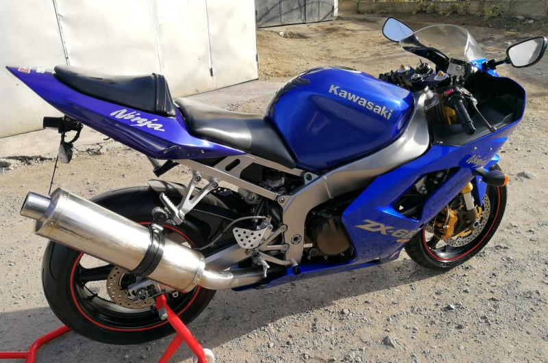 7- Kawasaki Zxr